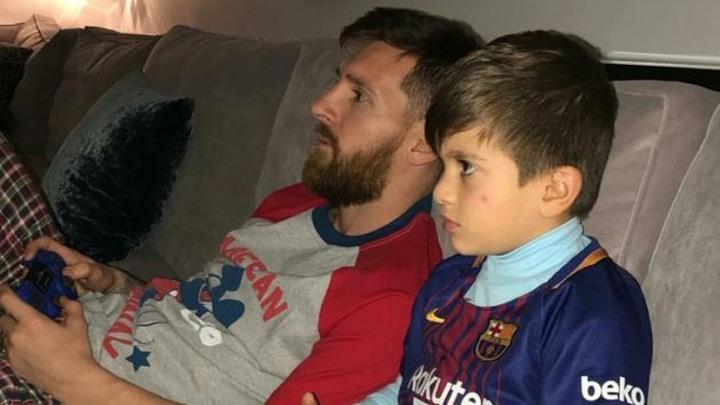 """""""Messijev sin 'uništava' Real baš kao njegov otac"""""""
