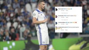 Bh. igrači pružili podršku Džeki na Instagramu, oglasio se i hrvatski reprezentativac