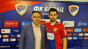 Dino Ćorić predstavljen u FK Borac!