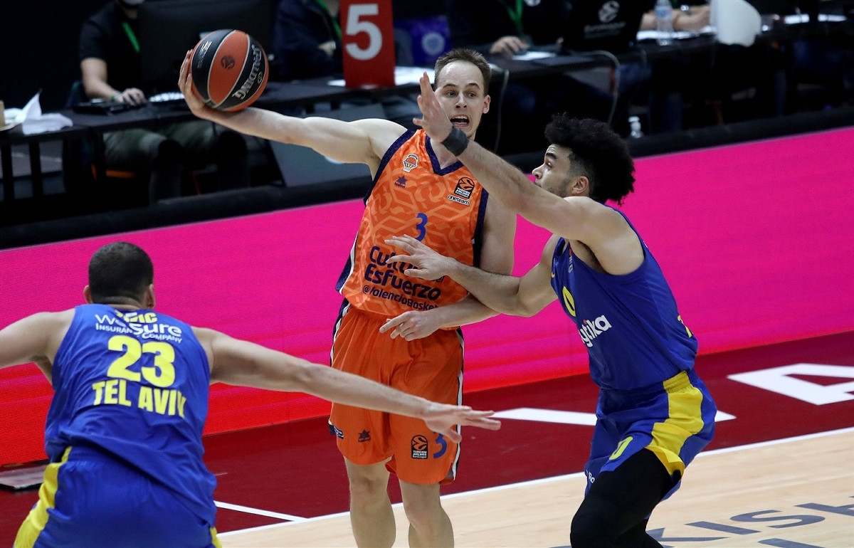 Maccabi u samo 90 sekundi prokockao +6 i izgubio u Valenciji