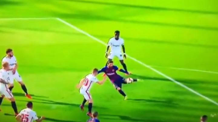 Sevilla povela protiv Barcelone, ali je Messi golčinom izjednačio rezultat