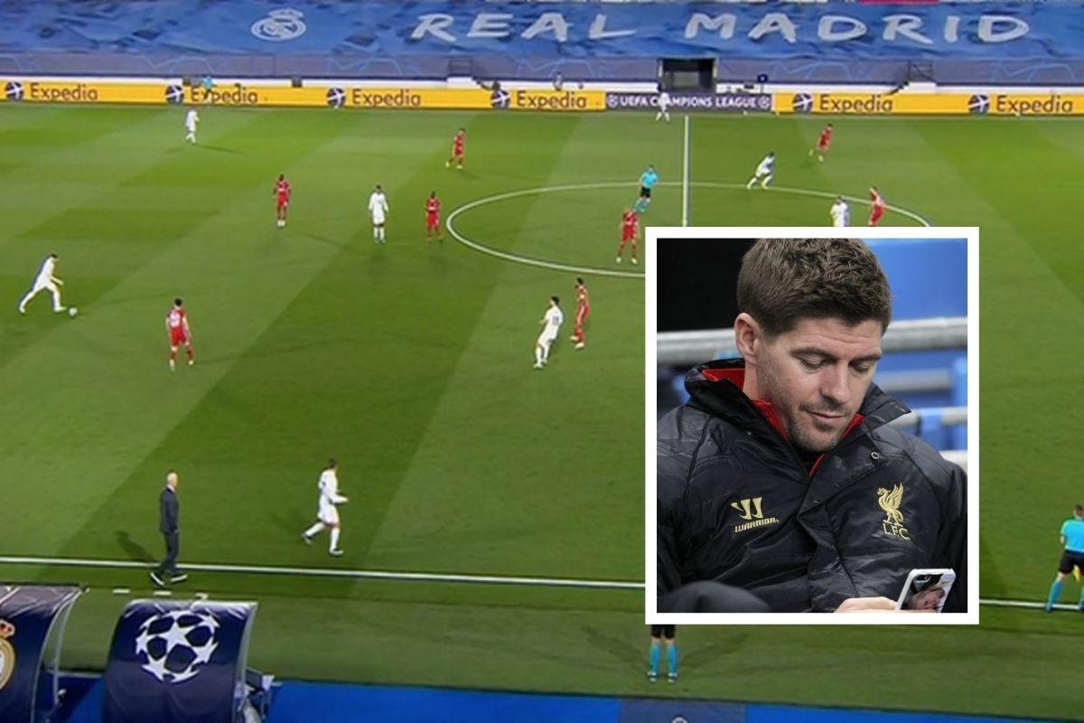 Gerrard je poslao sms poruku sadašnoj zvijezdi Reala, doživio je blammažu koja ga još proganja