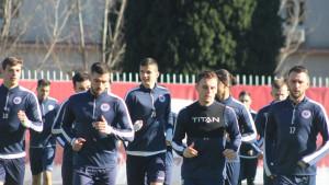 HŠK Zrinjski danas odradio prvi trening u ovoj godini