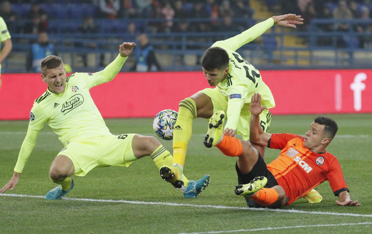 Dinamo prokockao pobjedu u Ukrajini