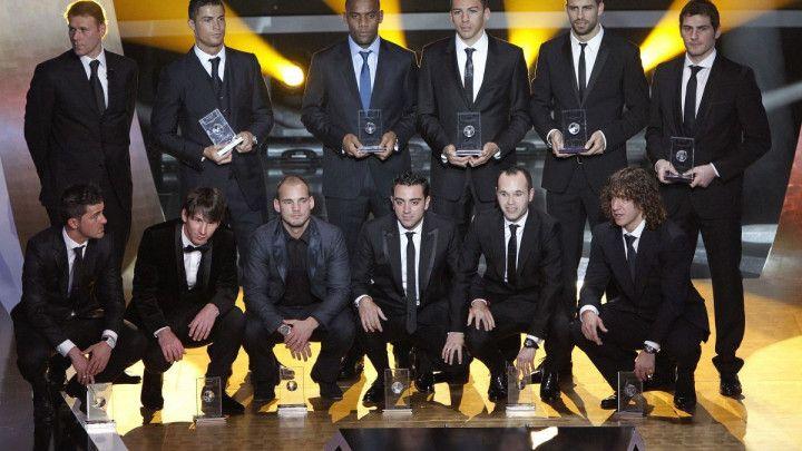 Poredak za Zlatnu loptu 2010. godine je zbog jednog čovjeka bio veoma zanimljiv