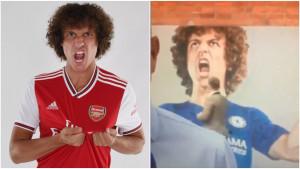 David Luiz je baš naljutio neke navijače Chelseaja