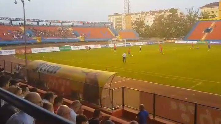 blusrcu.ba-Marš na Drinu dočekao fudbalere Sarajeva u Banjaluci