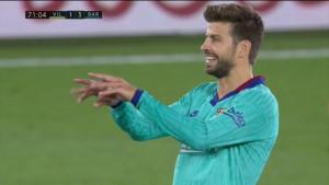 """Pique ismijavao VAR, a nakon meča poručio: """"Ne sjećam se toga, ne znam o čemu pričate"""""""