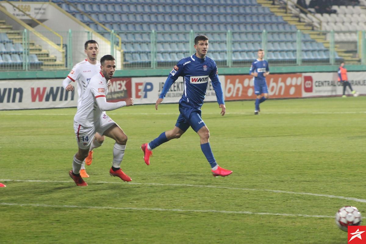 FK Borac na Pecari vodio 0:2, pa na kraju jedva izvukao jedan bod