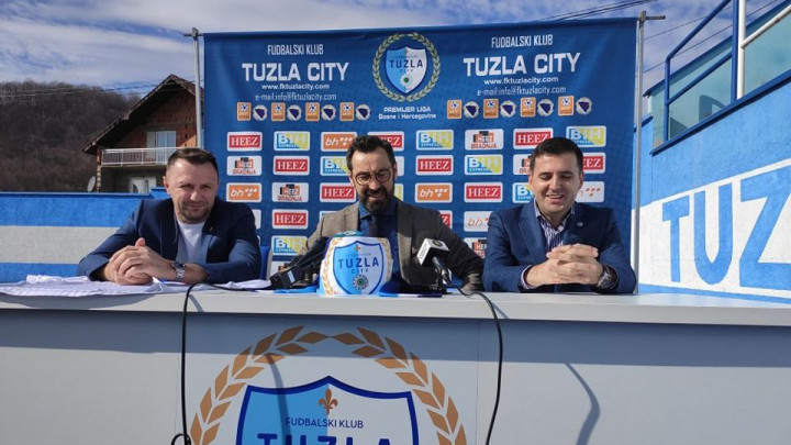 Nalić predstavljen u FK Tuzla City: Otišao sam nedorečen iz ove lige