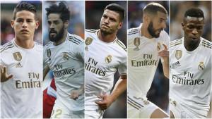 Ovakav sastav Real Madrida do sada nije viđen