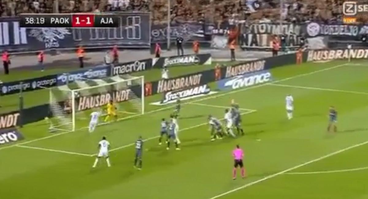 Stadion u Solunu je proključao: PAOK za samo sedam minuta stigao do preokreta protiv Ajaxa