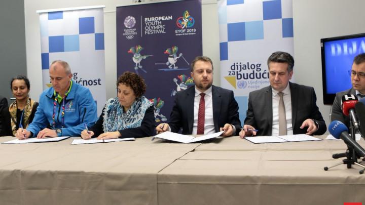 UN danas ozvaničio saradnju sa EYOF-om