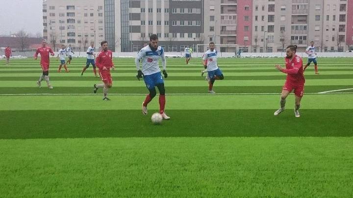 Borac deklasirao Slobodu NG u drugoj kontrolnoj utakmici