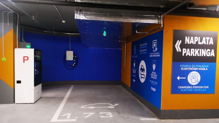 U Sarajevu otvorena prva javna električna punionica za automobile