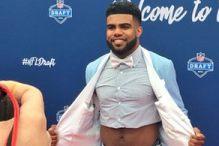 Stigao na NFL draft i odmah šokirao stajlingom