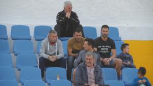 Emir Spahić sa tribina pratio meč Premijer lige