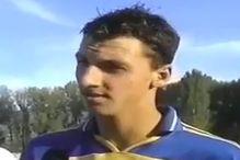 Pogledajte jedan od prvih intervjua Zlatana Ibrahimovića