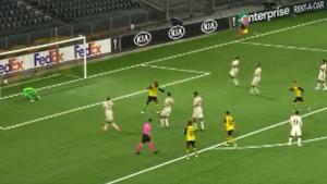 Šok za Romu na početku meča u Bernu