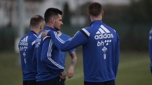 Povreda je prošlost, Zakarić se vratio treninzima Partizana