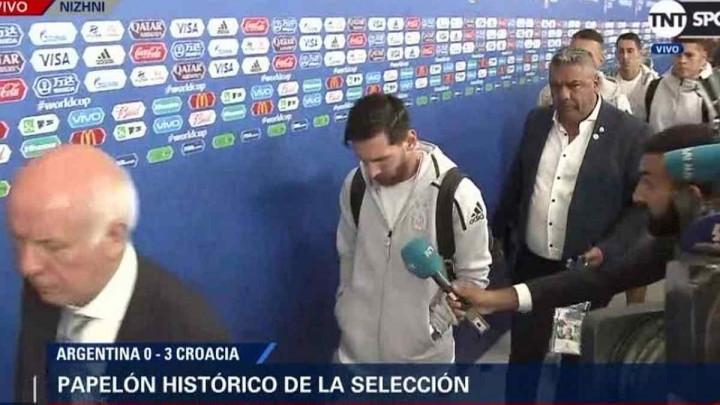 Šta uradiše Dalićevi momci: Lionel Messi ostao bez teksta
