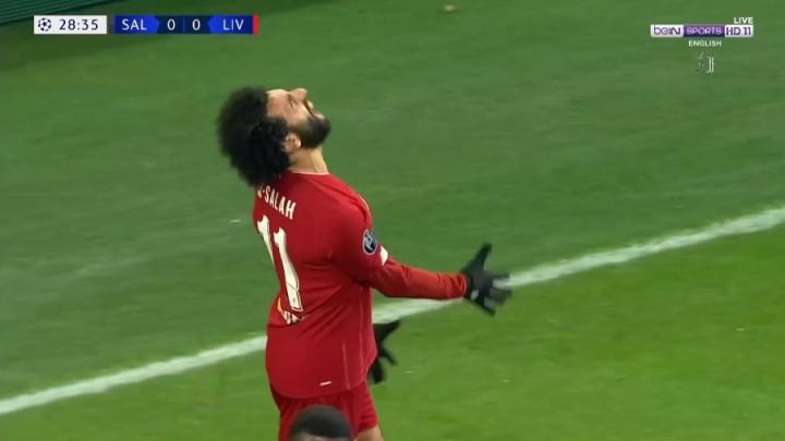 Salah je bio bijesan na sebe nakon nevjerovatnog promašaja
