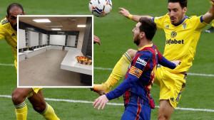 Objavili fotografije na Twitteru: Cadiz gospodskim potezom oduševio navijače Barcelone