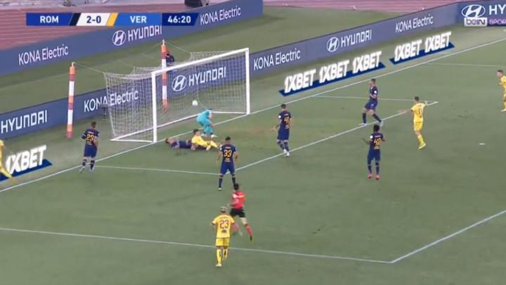 Igrač Verone petom postigao gol Romi