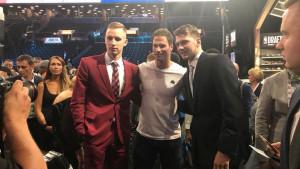 Asmir Begović bodri Musu na NBA draftu u New Yorku