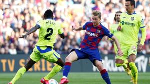Barcelona spašavala pobjedu protiv Getafea