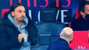Ibrahimović nije na terenu, ali kao da jeste!