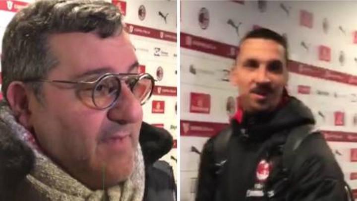 Ibrahimović ne prašta ni Raioli: Pogledajte njihov susret u mixed zoni San Sira