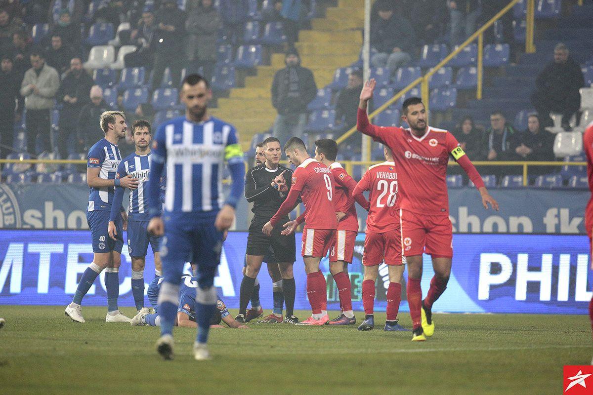 FK Velež prekinuo crnu tradiciju i na Grbavici slavio prvi put poslije 1988. godine