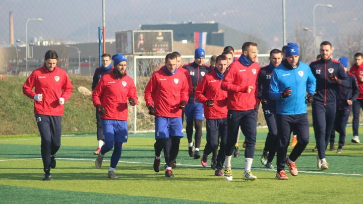 Nakon prozivke FK Borac održao prvi trening u 2020. godini