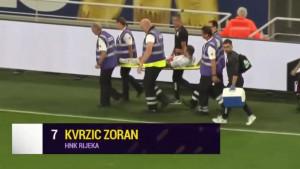 Problemi za Prosinečkog: Zoran Kvržić iznesen na nosilima s terena