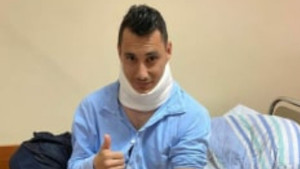 Rustemović se oglasio nakon povrede, pojavila se i fotografija iz bolnice
