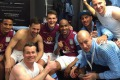 Ušli u finale FA kupa, pa se počastili pivama u svlačionici