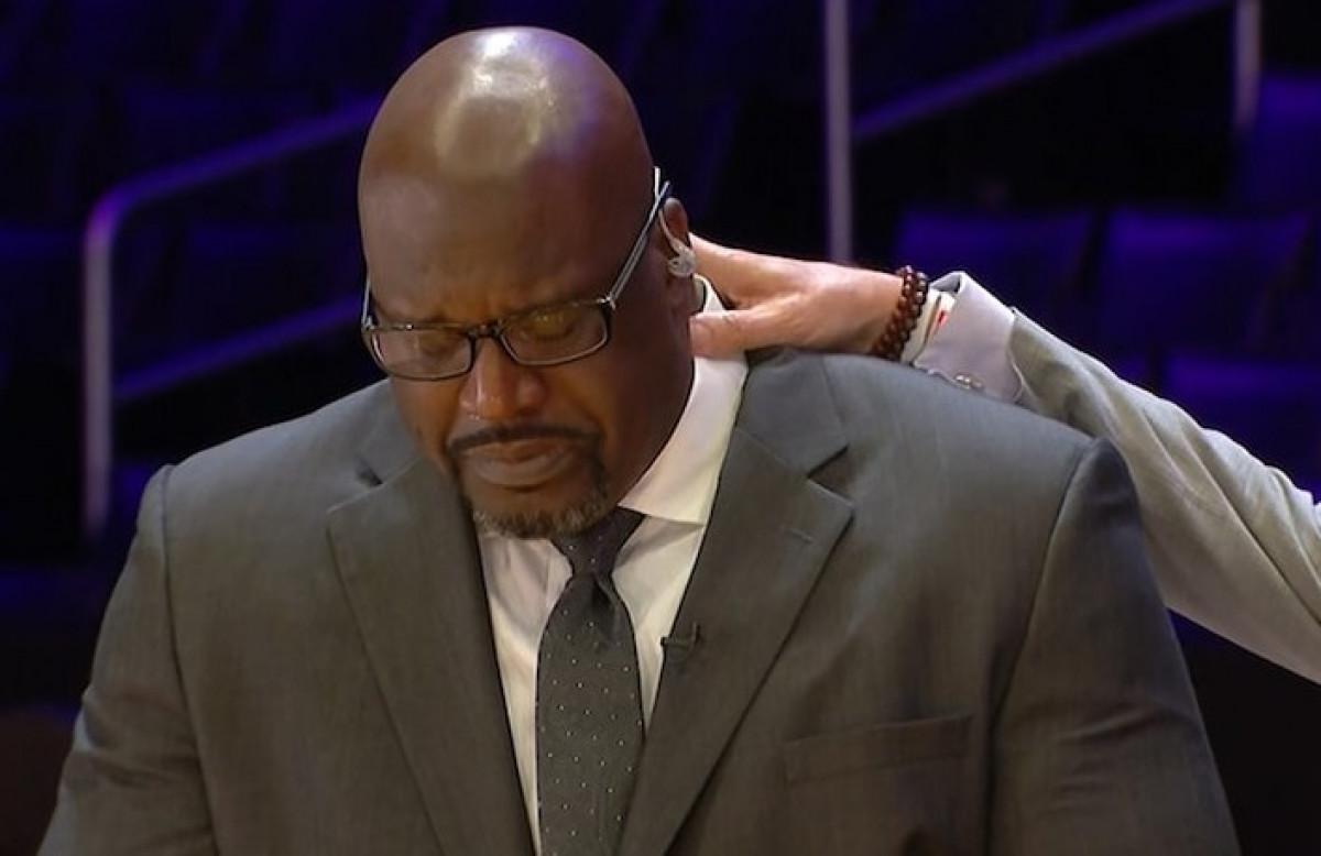 Shaq se gušio u suzama zbog Kobeja