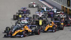 Vozači Formule 1 za povratak šljunka oko staza