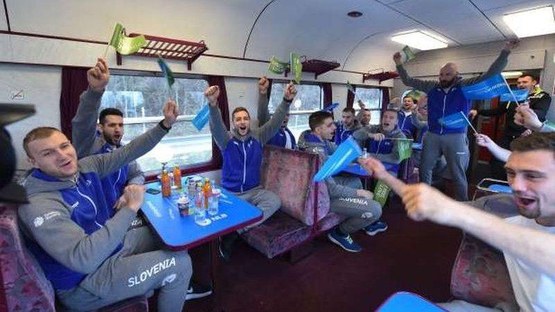 Imaju ono nešto svoje: Na EP u Hrvatskoj stigli vozom