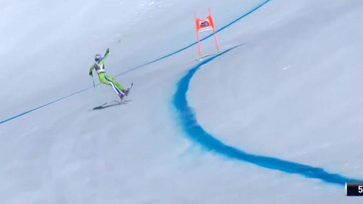 Strašan pad slovenske skijašice i teška povreda zbog koje je sezona za nju završila