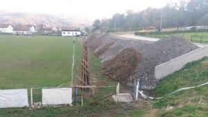 Tek su ušli u Prvu ligu FBiH, a već prave novu tribinu na stadionu