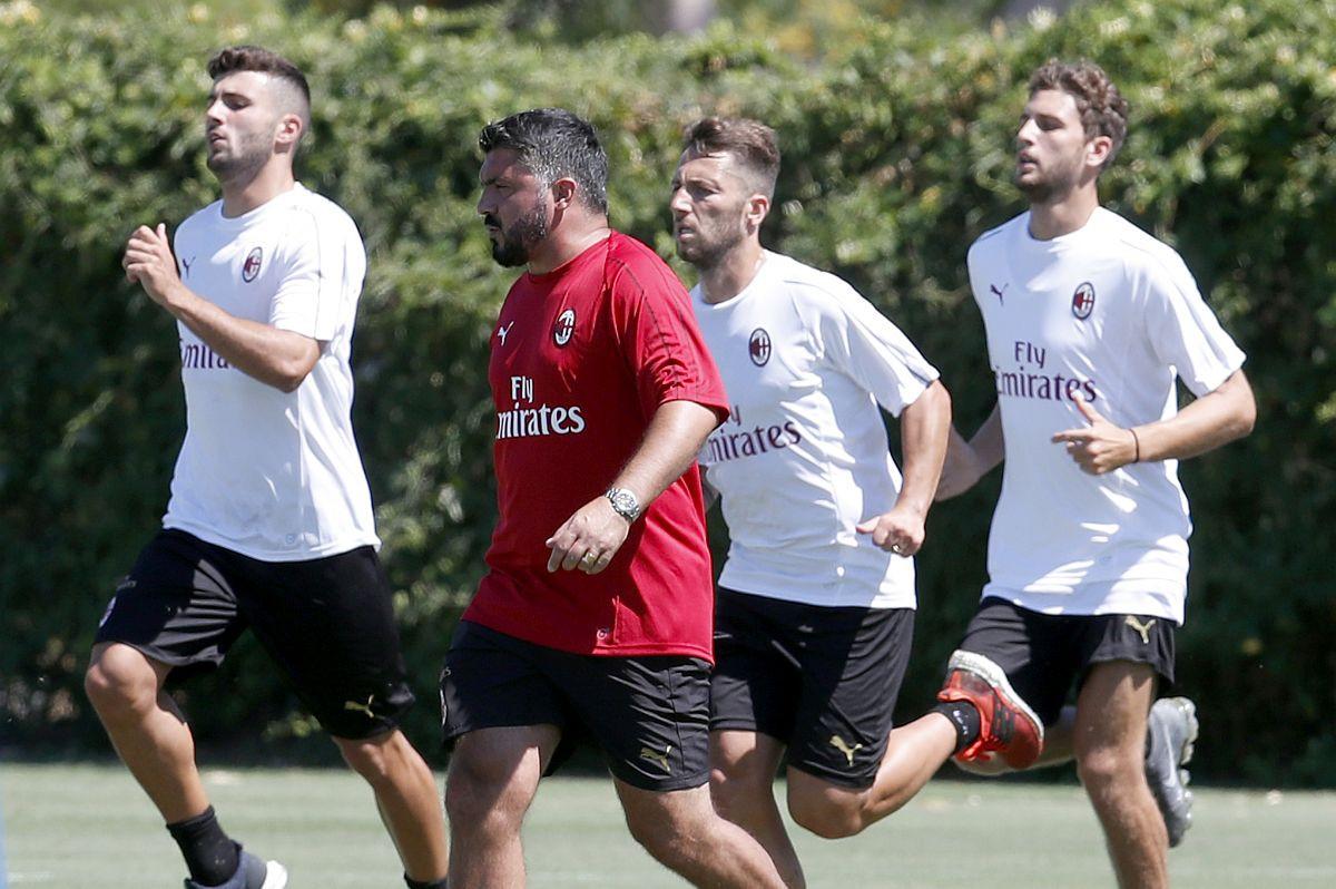 Da s Gattusom nema šale pokazuju i dešavanja s današnjeg treninga Milana
