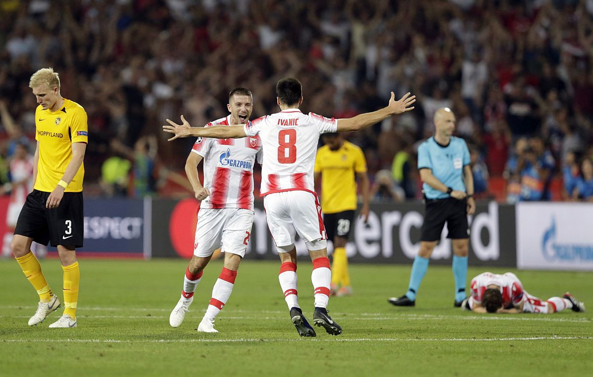 Crvena zvezda pod istregom UEFA-e zbog utakmice sa Young Boysom
