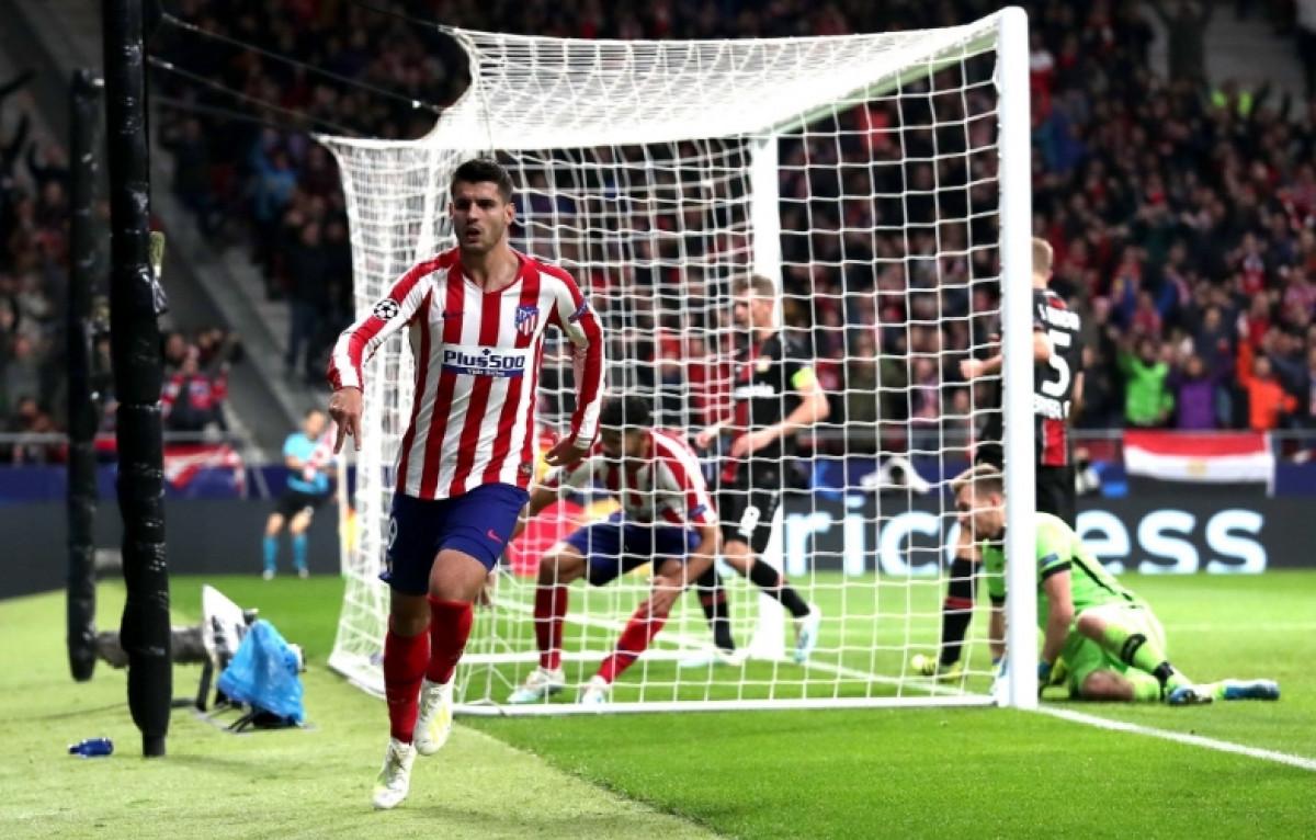 Morata golom donio važna tri boda Atleticu u meču protiv Leverkusena