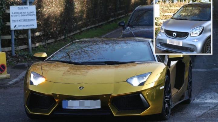"""Aubameyang pokazao zlatnog Lamborghinija, a onda je Xhaka parkirao svoju """"zvijer"""""""