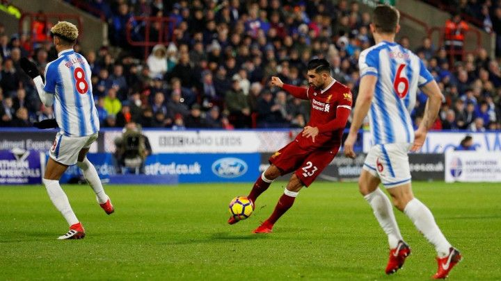 Liverpool s pola snage do ubjedljive pobjede nad Huddersfieldom