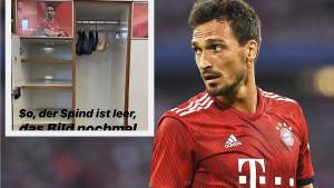 Hummels ispraznio ormarić u Bayernu, slikao ga i poslao zagonetnu poruku