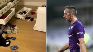 Na meti razbojnika: Ribery pokazao šta ga je dočekalo kada je ušao u kuću