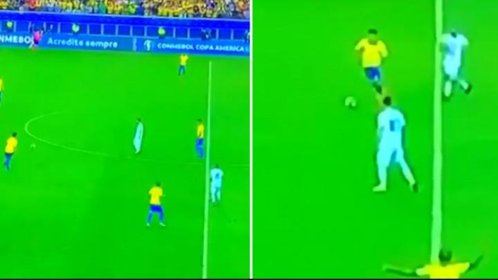 Igrači Argentine pokušali napraviti pritisak na Brazilce, a Messi se samo šetao po terenu